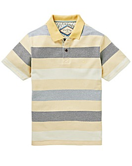 Mantaray Relief Block Stripe Polo