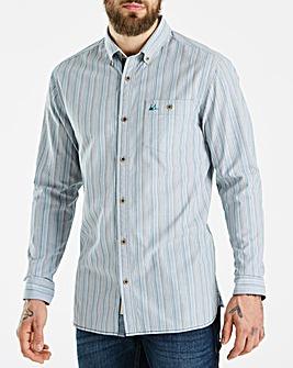 Mantaray Multi Stripe Shirt