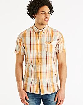Mantaray Solid Check Shirt