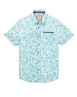 Mantaray VB Leaf Print Shirt