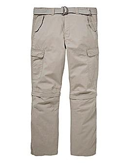 Mantaray Zip Off Cargo Pant