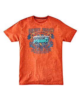 Joe Browns Sunset Beach T-Shirt Reg