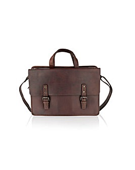 Woodland Leather Slim Line Cross Bdy Bag