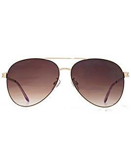 Viva La Diva Cara Aviator Sunglasses