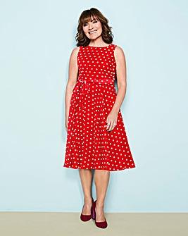 Lorraine Kelly Spot Dress