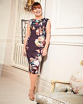 Lorraine Kelly Print Scuba Dress