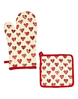 Amour Glove & Potholder
