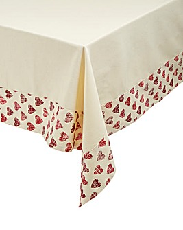 Amour Reversible Table Cloth