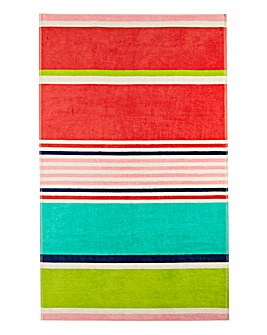 Funky Stripe Beach Towel
