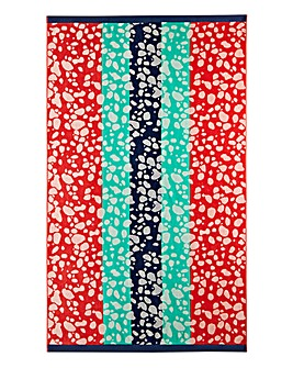 Island Stripe Beach Towel