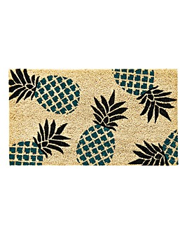 Pineapple Door Mat