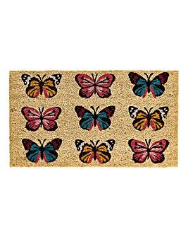 Butterfly Door Mat