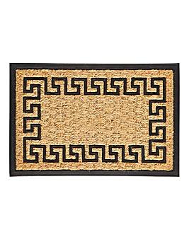Greek Key Door Mat