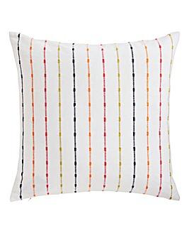 Rainbow Stripe Cushion