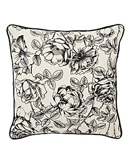 Moody Floral Cushion