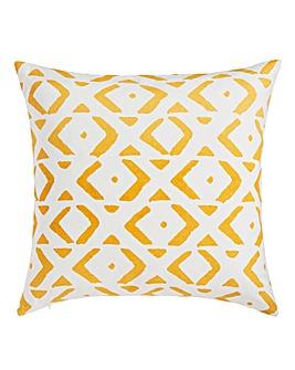 Tribal Sunburst Cushion