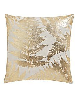 Gold Fern Cushion