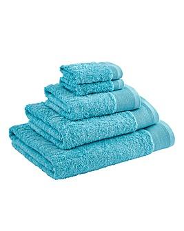 Egyptian Cotton Towel Range Aqua