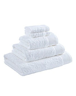 Egyptian Cotton Towel Range White