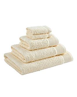 Egyptian Cotton Towel Range Cream