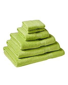 Supersoft Snuggle Towel Range Apple