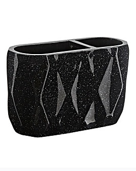 Glitter Dual Toothbrush Holder