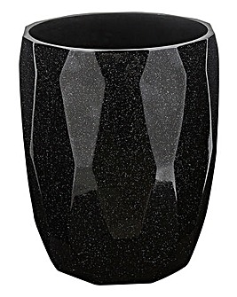 Glitter Bathroom Waste Bin
