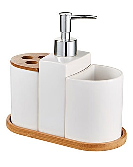 Aria 3 Piece Bathroom Accessory Set
