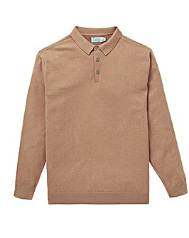 W&B Camel Silk Mix Jumper R