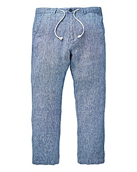 W&B Blue Linen Trousers