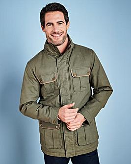 W&B Khaki Cotton Jacket R