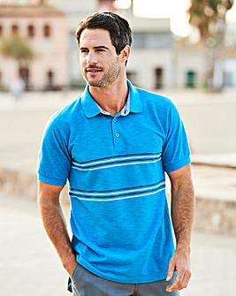 W&B Blue Polo Shirt R