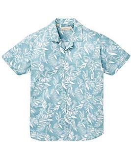 W&B Blue Print Shirt R