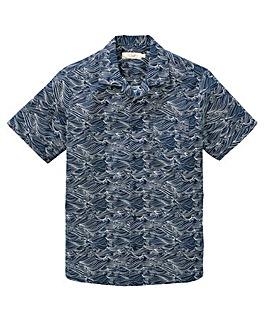W&B Blue Short Sleeve Shirt R