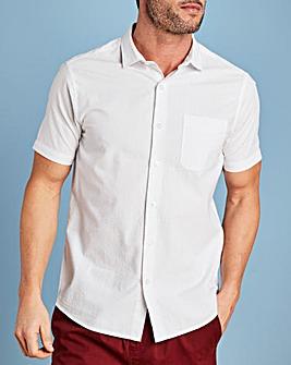 W&B White Seersucker Shirt R