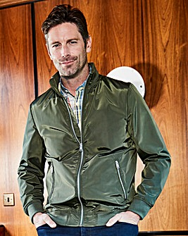 W&B Olive Lightweight Jacket R