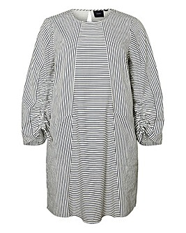 I.Scenery Dyveke Stripe Dress