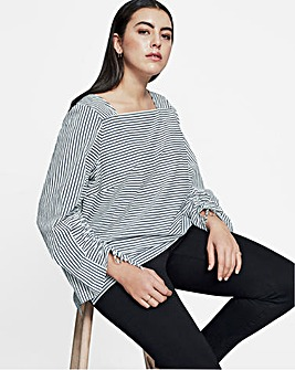 I.Scenery Dyveke Stripe Blouse