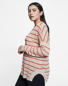 I.Scenery Brim Knit Pullover