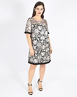 Lovedrobe Sequin Swing Dress