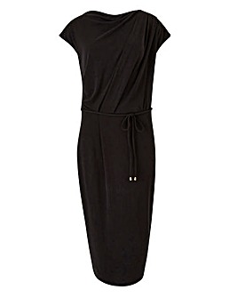 Oasis Drape Column Dress