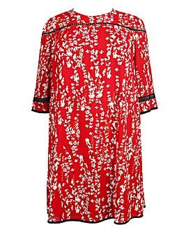 Lovedrobe Contrast Trim Shift Dress