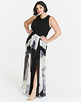 Coast Aria Geo Print Maxi Dress