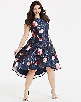 Chi Chi London Floral Fit & Flare