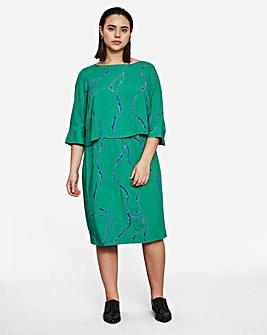 I.Scenery Klu Printed Dress