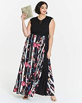 Coast Katie Print Maxi Dress