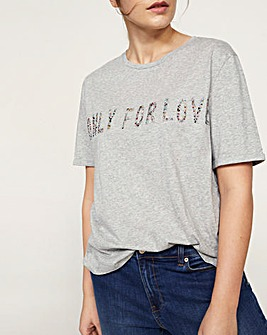 Violeta by Mango Only For Love T-Shirt