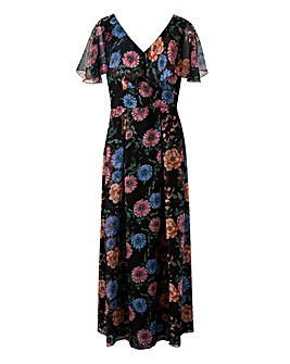 Lovedrobe Printed Maxi Dress