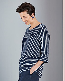 Concept Pure Italian Linen Blouse