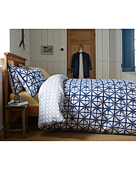 Sorrento Reversible Print Duvet Set